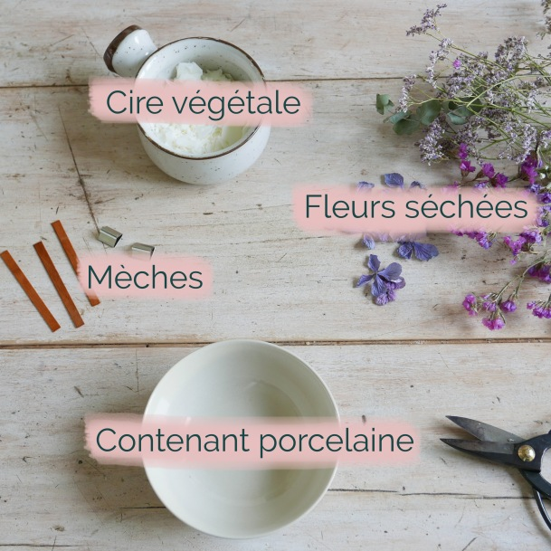 Diy Bougie Fleurs Sechees Le Blog Bloom S